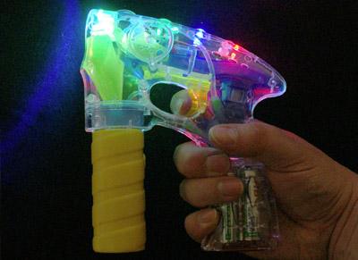 led bubblegun