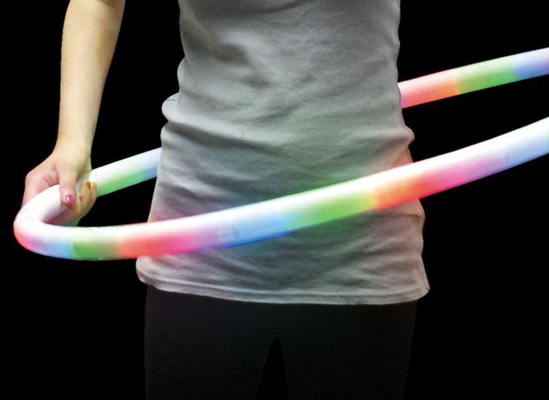 flashing hula hoop