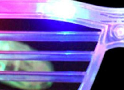 led shades - shutter style - kanye west inspired