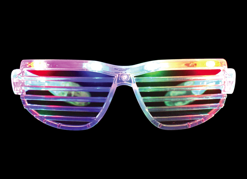 flashing shutter shades