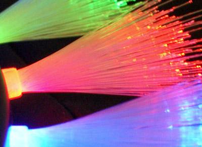 flashing mohawk head boppers - fibre optics