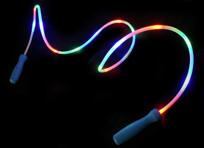 light-up skipping ropes